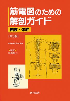 『筋電図のための解剖ガイド』
