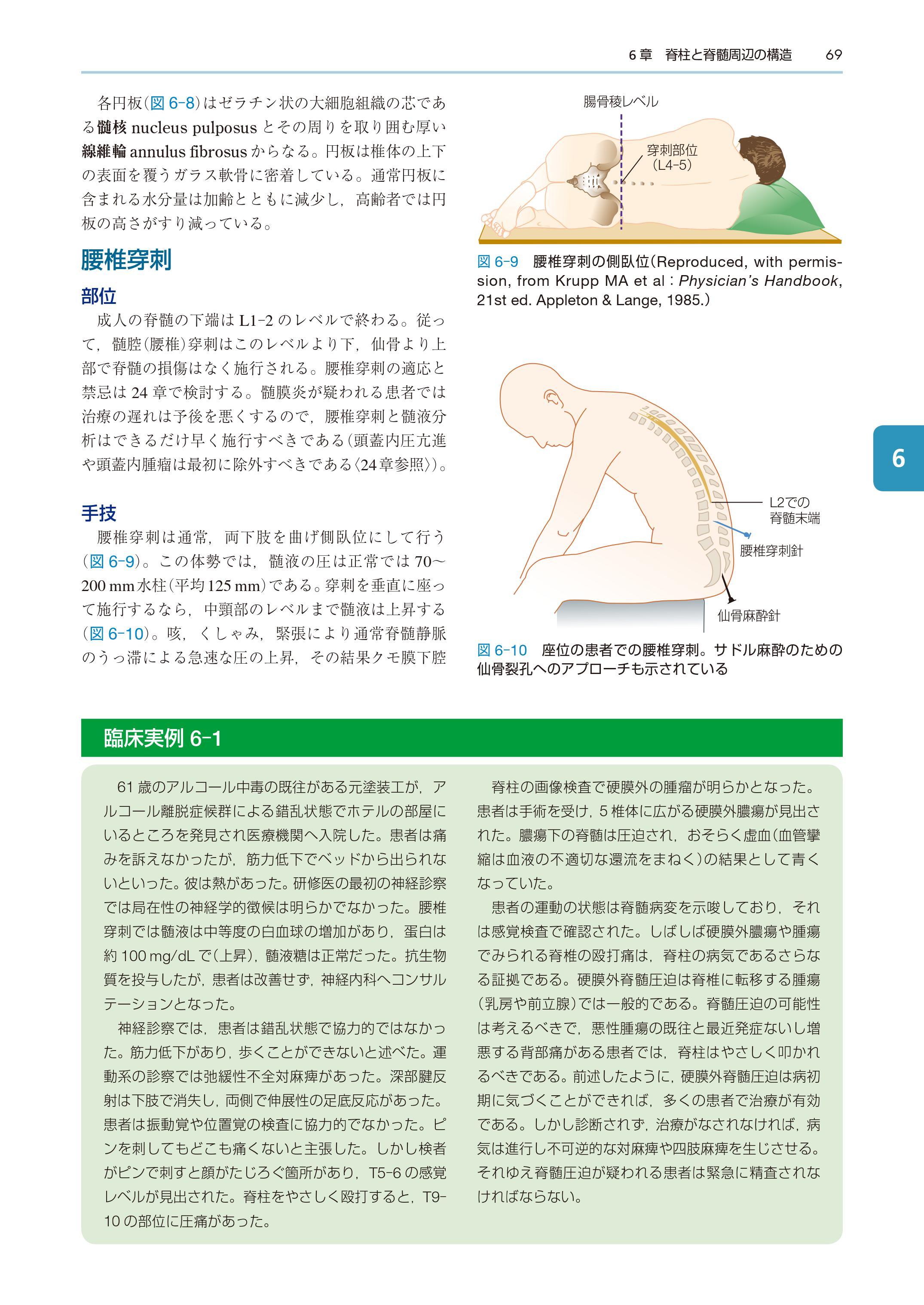 『ワックスマン脳神経解剖学』中身ページ069